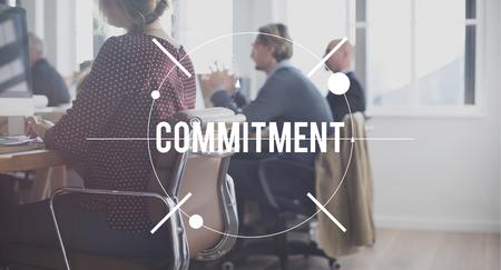 obligation: Commitment Compliance Obligation Responsibility Concept Stock Photo
