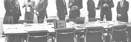 Discussion de groupe réunion d'affaires Stratégie Concept de travail Banque d'images