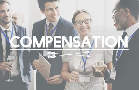 Compensatie Finance Bonus Incentive Concept Stockfoto