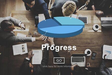 to move forward: Progress Mission Move Forward Improvement Concept Stock Photo