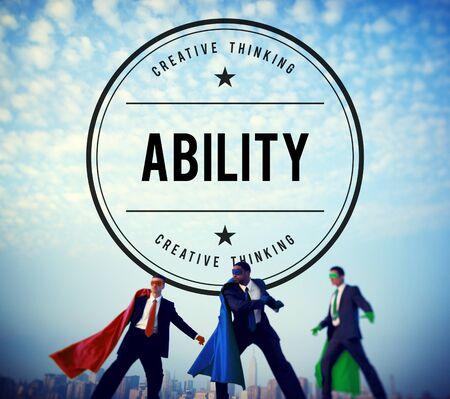 Ability Capability Skills Talent Concept