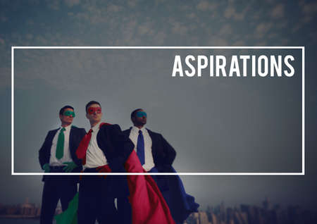 expectation: Aspire Aspirations Desire Expectation Concept