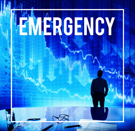 a situation alone: Emergency Hospital Injuring Dangerous Concept Stock Photo