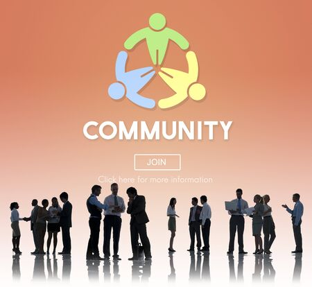 Globalized Community Unity Connection Network Concept