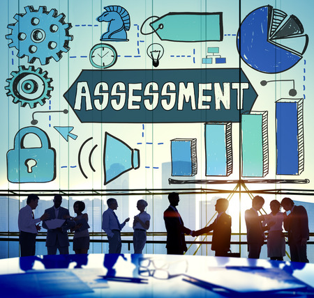 examination: Assessment Examination Inspection Strategy Concept Stock Photo