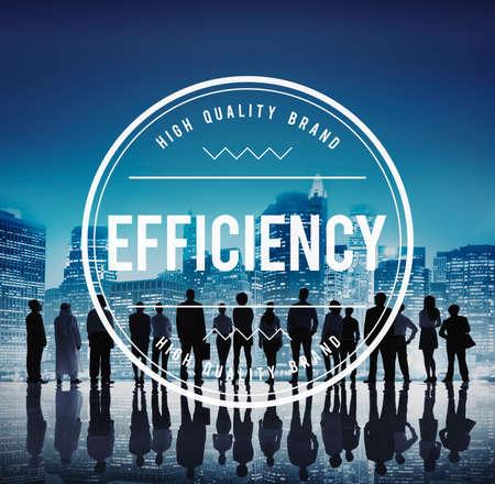 excellent: Efficiency Excellent Improvement Mission Order Concept Stock Photo
