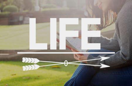 Life Enjoyment Happiness Satisfaction Concept