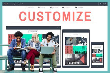 create: Customize Create Custom Unique Concept