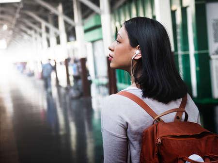 destination: Travel Commuter Destination Tourist Concept Stock Photo