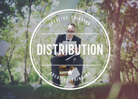 distributed: Distribution Distribute Distributed Distributer Concept