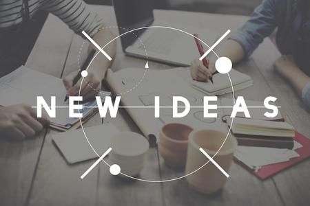 schöpfung: Neue Ideen starten neue Business-Konzept
