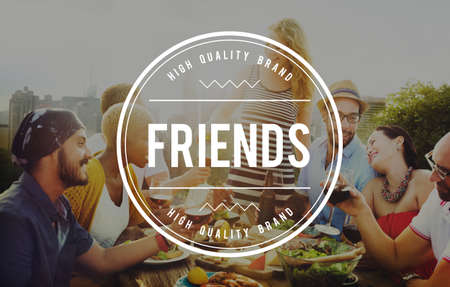 friendliness: Friends Friendship Fellowship Community Team Concept
