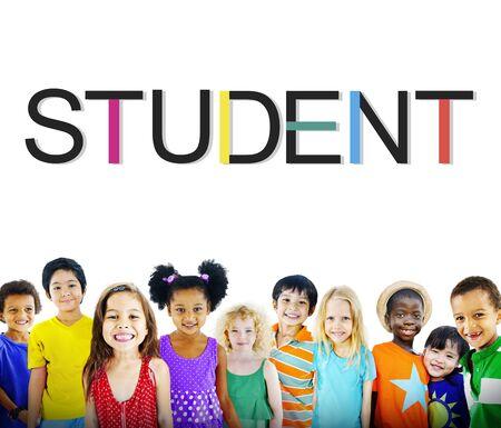 intern: Student School Learning Intern Education Concept Stock Photo
