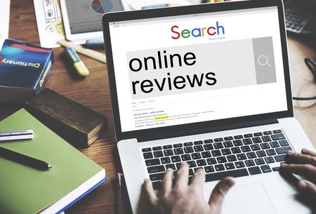 Online Reviews Feedback Comment Suggestion Concept Zdjęcie Seryjne