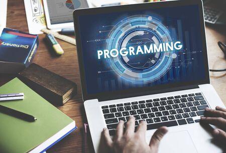 Programación Programa Concepto tecnología de código de ordenador