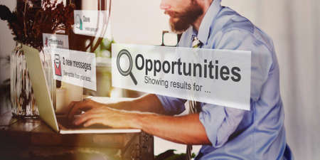 skill: Opportunities Skill Achievement Development Concept Stock Photo