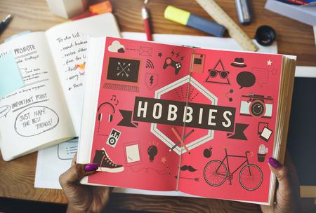Hobby's Activiteit Amusement Freetime Interest Concept Stockfoto