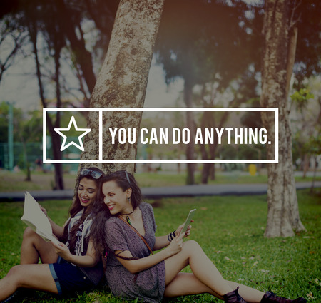 anything: You Can Do Anything Inspriration Inspire Motivate Concept