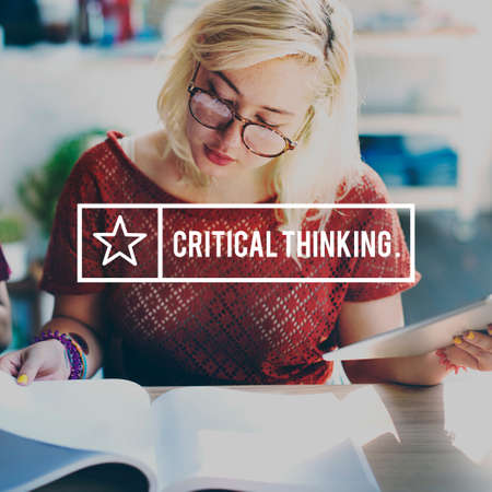 critical thinking: Critical Thinking Analysis Determination Strategy Concept
