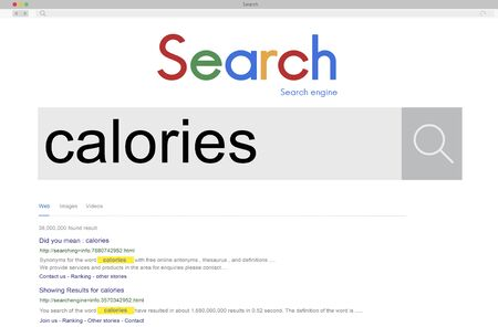 the calories: Calories Diet Food Health Nutrition Concept