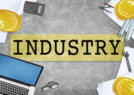 sector: Industry Factory Manufacturing Production Sector Concept