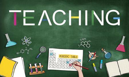 a solution tube: Teaching Teach Teacher Training Development Concept