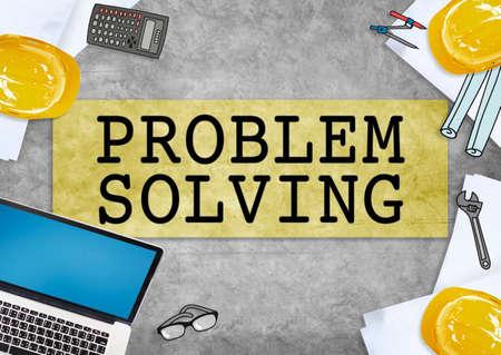 problem solving: Problem Solving Ideas Progress Concept