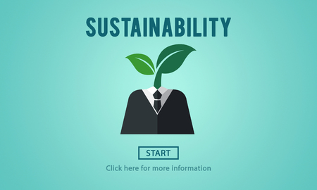 resourceful: Sustainability Ecology Environmental Conservation Sustainable Concept