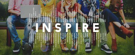 Inspire Inspiration Creative Motivate Imagination Concept