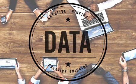 information analysis: Data Computer System Digital Analysis Information Concept Stock Photo