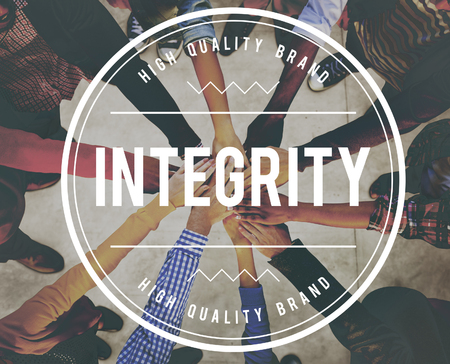 Integrity Trust Moral Loyalty Concept Stock Photo