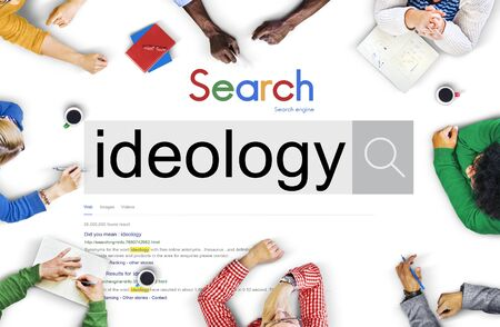 philosophy: Ideology Iedals Philosophy Teaching Theory Concept Stock Photo