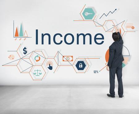 Income Salary Sales Return Money Concept