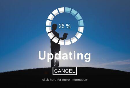 updating: Updating Upgrade Software Program Data Technology Concept