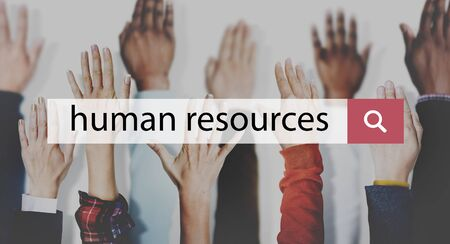 Human Resources Employment Issues Concept