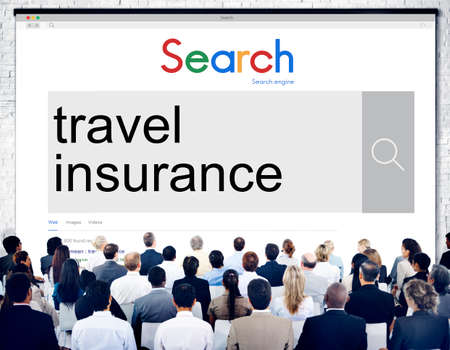 insurance policy: Travel Insurance Policy Security Protection Vacation Concept