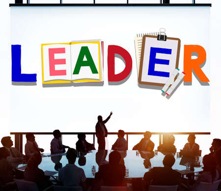 backlit: Leader Leadership Skill Authority Influence Concept