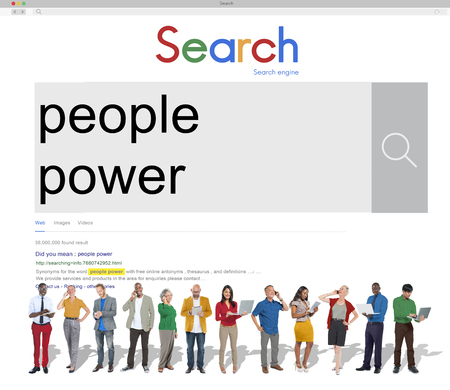 humanity: People Power Humanity Society Community Group Concept