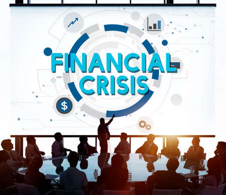 financial crisis: Financial Crisis Depression Downturn Economy Concept