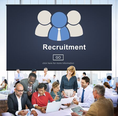 occupation: Recruitment Hiring Employment Human Resources Concept