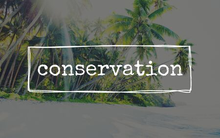 conserving: Conservation Maintenance Ecology Protection Conserving Care Concept