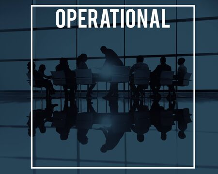 an operative: Operational Operative Operate Active Effective Concept