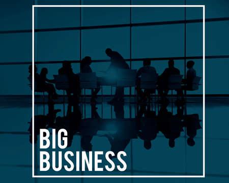company: Big Business Company Corporate Enterprise Organisation Concept