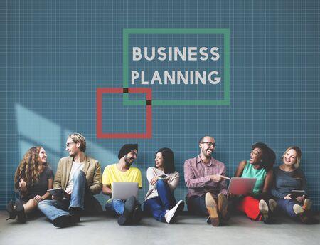 Business Plan Planning Goals Ideeën Proces Concept