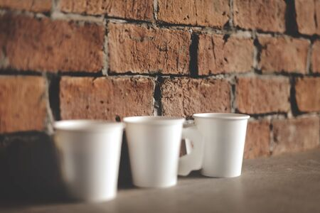 paper cup: Coffee Paper Cup Refreshment Fresness Morning Concept