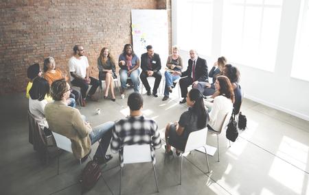 Business Team Seminarium Corporate Strategy Concept
