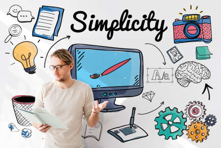 Simplicity Minimal Minimalist Simple Clean Clear Concept
