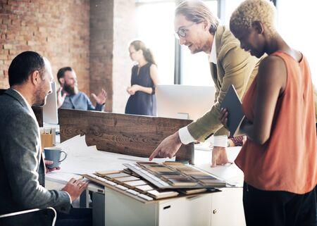 Design Studio Creativity Ideas Concept de décoration en bois Palette