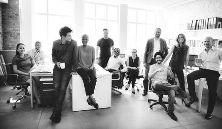 conept: Cheerful Collaboration Colleagues Office Corpoare Conept