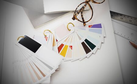 color swatch: Color Swatch Design Studio Creativity Ideas Concept